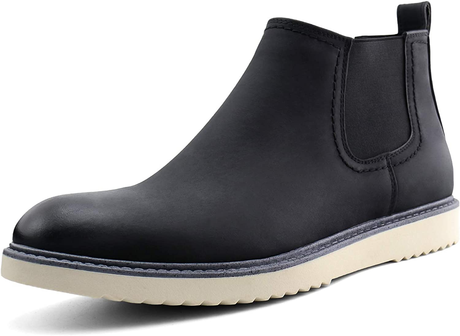JABASIC Mens Chelsea Boots Slip Casual On Chukka Choice Ankle Fort Worth Mall Dre