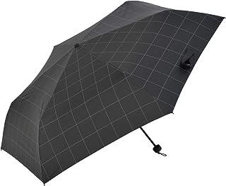 Nifty Colors(ニフティカラーズ) 折りたたみ傘 遮光ウィンドウペインミニ60 ブラック