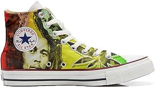 Sneakers Original American USA Customized - Zapatos Personalizados (Producto Artesano) con Bob Marley