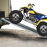 2x Auffahrrampe Rampe Autorampe Auffahrhilfe Verladerampe Laderampe Stahl 400kg - 5