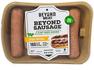Beyond Meat Brat Original Plant-based Sausage, 14 oz (8 Pack, 32 Links Total)