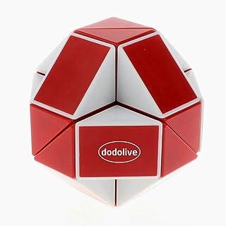 Dodolive Shengshou juguetes educativos 24 Piezas Magia Soberano Gran Variedad cubo magico,rojo con blanco