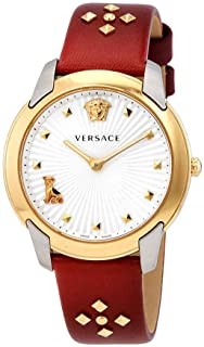 Versace Audrey Quartz Silver Dial Ladies Watch VELR00219