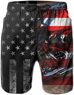 Virginia is for Lovers Mens Classic Summer Boardshorts with Pockets