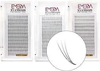 3 dozen 3D Volume Wimper extensions 0.07mm C krul Russische volume wimpers 12mm 14mm Mix 8-14mm 3D cluster wimper extensio...