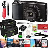 Ricoh GR II 16.2 MP Digital Camera with Wi-FI Bundle with Photo and Video Professional Editing Suite, 32GB...