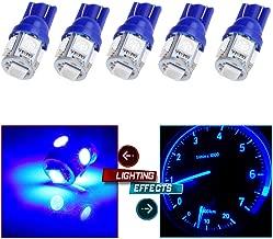 cciyu T10 LED Light Bulb 194 168 LED Bulb Instrument Panel Gauge Cluster Dashboard LED Light Bulbs