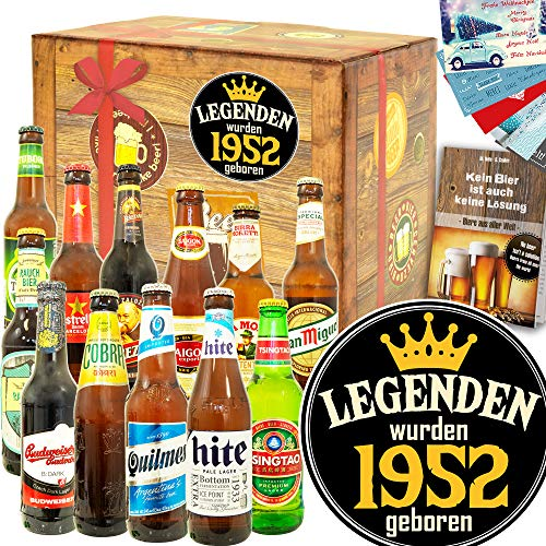 Legenden 1952 / Geschenk für die Liebste / 12 Biere aus aller Welt