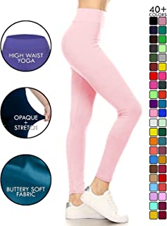 31e0e795ccf6f Leggings Depot High Waisted Leggings -Soft & Slim - 37+ Colors & 1000+
