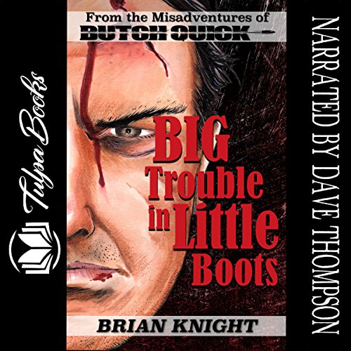 Big Trouble in Little Boots audiobook cover art