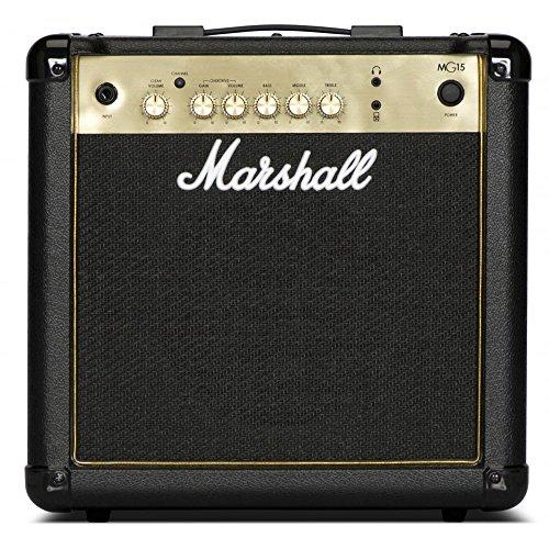 Marshall mg15g negro y dorado AMPLIFICADOR COMBO