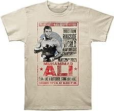 Muhammad Ali T-Shirt May 25th 1965 Poster Natural Tee