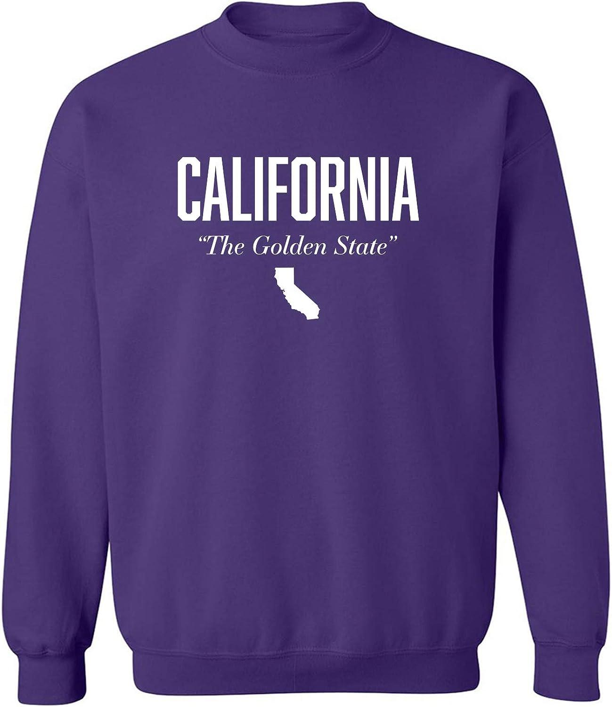 California The Golden State Crewneck Sweatshirt