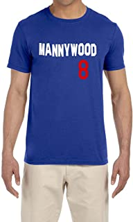Blue Los Angeles Mannywood T-Shirt