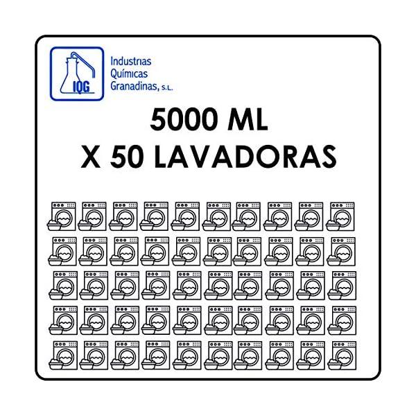 Katifa AUTOMÁTICAS. Detergente líquido para Lavadora, Ropa Blanca y de Color, no daña los Colores ni los Tejidos. 5L.