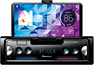Pioneer SPH-C10BT Smartphone Receiver with Pioneer Smart Sync connectivity, Dual Bluetooth, Black