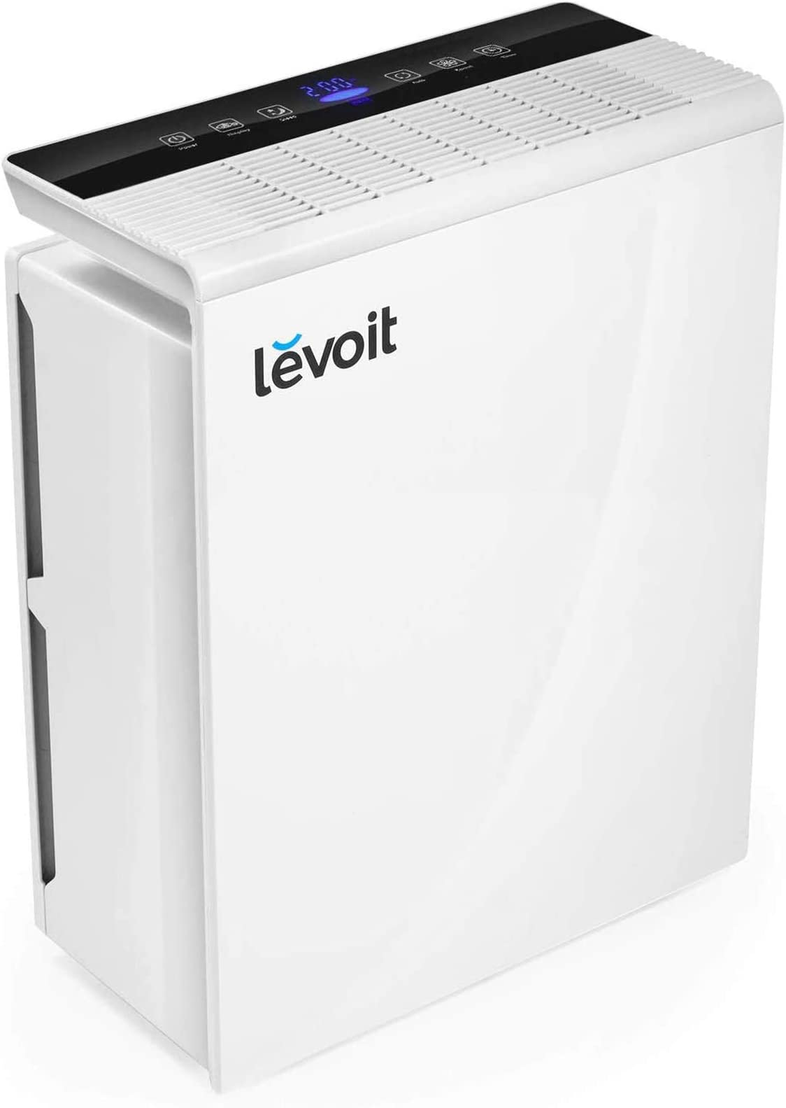 LEVOIT Air Purifier for Home Large Room,Smoke and Odor Eliminator, H13 True HEPA Filter for Bedroom, Auto Mode & 12h Timer, Cleaners for Allergies and Pets, Mold Pollen Dust, LV-PUR131, White