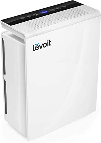LEVOIT Air Purifier for Home Large Room,Smoke and Odor Eliminator, H13 True HEPA Filter for Bedroom, Auto Mode & 12h ...