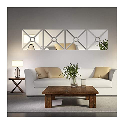 Swell Mirrored Wall Decor Amazon Com Download Free Architecture Designs Itiscsunscenecom