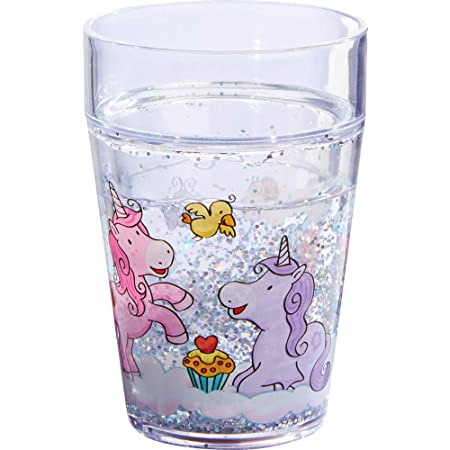 HABA Glittery Tumbler Unicorn Glitterluck for Kids | Cutlery Item