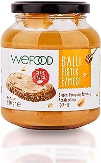 Wefood Şekersiz Ham Ballı Fıstık Ezmesi 300 gr