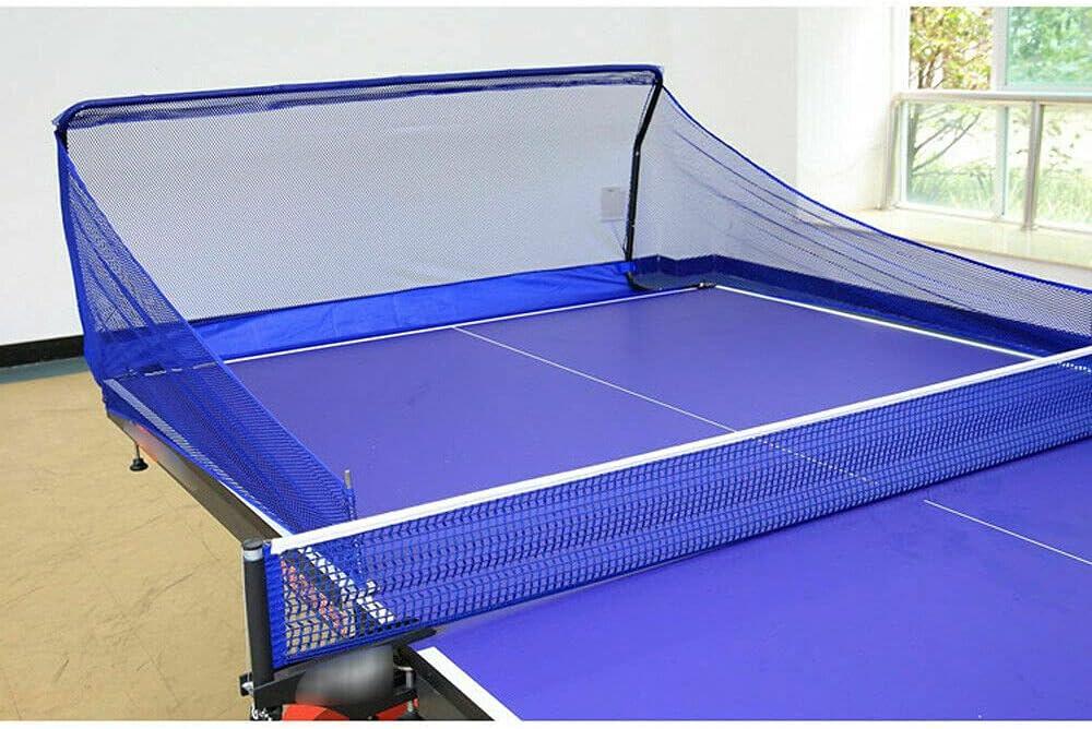 SHZICMY Red de pesca para pelotas de ping-pong – La red de ejercicio se fija a la mesa de ping pong para recoger pelotas durante el robots de ping pong, servir o hacer ejercicio multi-bolas.