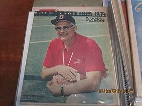 Woody Hayes Ohio State 9/7 1975 Columbus Dispatch Sunday magazine