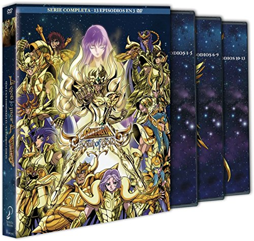 Saint Seiya Soul Of Gold Serie Completa [DVD]