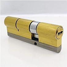 Deur vatslot Europese stijl hoge beveiliging anti-diefstal messing cilinder c kwaliteit gate lock kern entree deurslot cil...