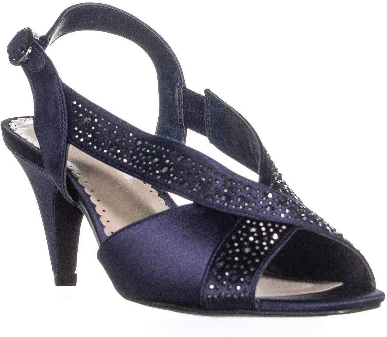 Charter Club Womens Haffair Satin Heels Dress Sandals