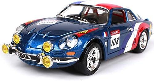 diseño único Maisto Renault A110 A110 A110 1600S Modelo de Coche de aleación de Metal los Niños tiran hacia atrás la colección Toy Boy 1 24 Modelos Escala Vehículos ( Color   azul )  se descuenta