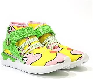 adidas Originals Men's Jeremy Scott Tubular Shoes S77835,4.5 Yellow/Green