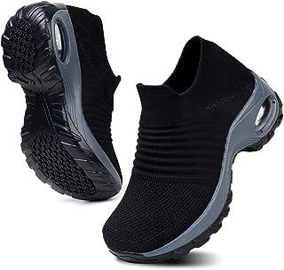 HKR Femme Chaussures de Marche Running Travail Course Confort Basket Tendances
