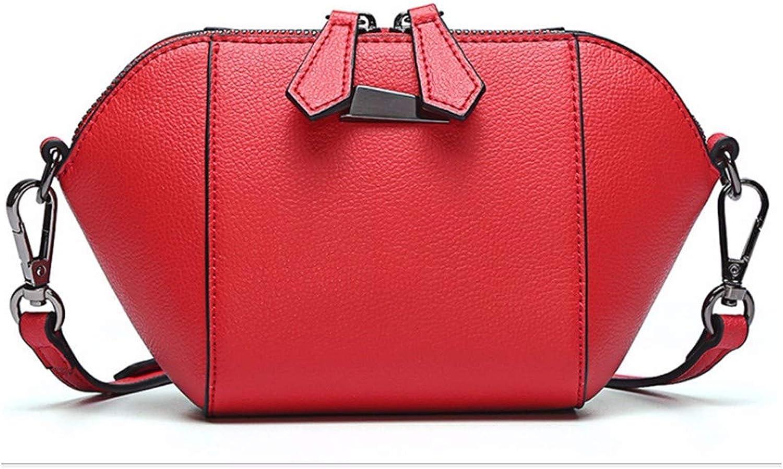 XUZISHAN Meine Damen Tasche Shell Quaste Handtasche Farbe Nähen Leder Crossbody Schultertasche Mini Fashion Messenger Bag B07M97SLBT  Wirtschaftlich und praktisch