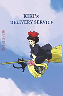 Kiki's Delivery Service: Studio Ghibli Animated Film Inspired Notebook Lined Journal