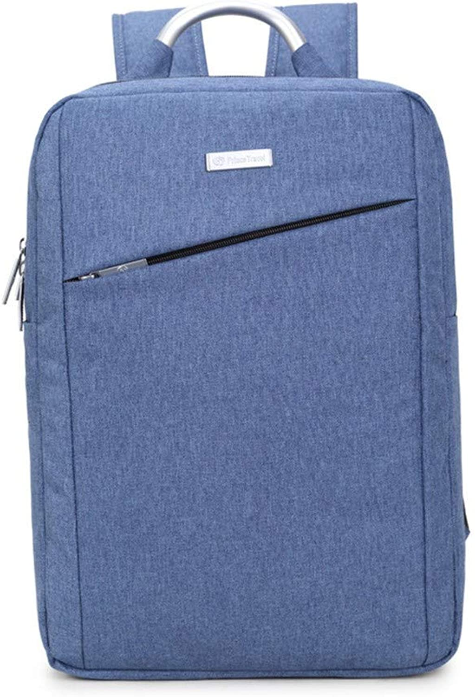 Computer-Rucksack-Computertasche für Herren, 44 × 30 × 16 cm, blau