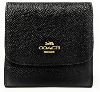 Small Wallet In Crossgrain Leather, F87588