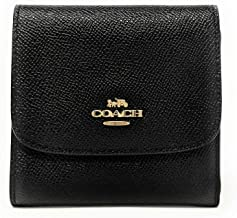 COACH Small Wallet In Crossgrain Leather, F87588
