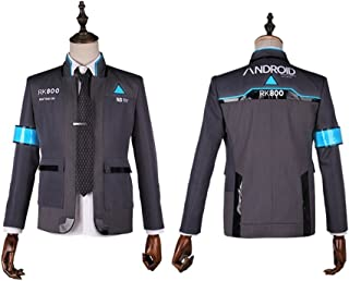 starfun Detroit: Become Human Kara Connor Jacket Cosplay Costume Marcus Android Uniform Coat Full Set