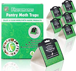 Moth Catcher Trampas antipolillas para polillas de despensa | Trampa para polillas de Cocina con ...
