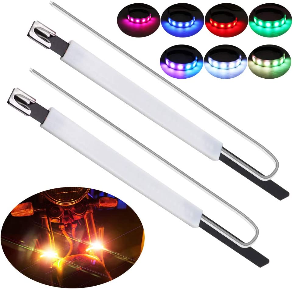 BUKERME RGB Motorcycle Max 76% OFF Fork Max 40% OFF Light 6 LEDs IP6 Strips 5050-SMD