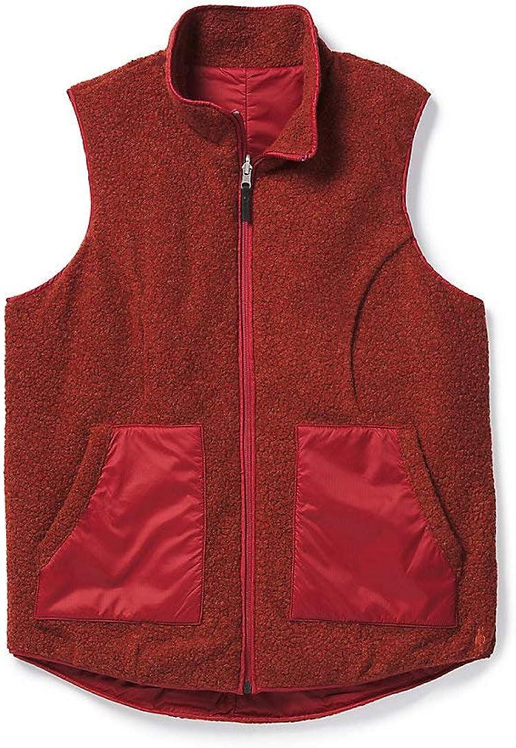 Smartwool Women's Anchor Line Reversible Sherpa Vest Masala X-Small Womens