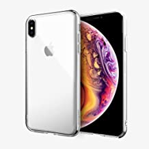 Absolute Technology LINKASE AIR with Apple Grade Gorilla Glass Case for Apple iPhone Xs (Bonus: Cirago 9H Premium Super Hardness Tempered Glass Screen Protector is Included) (Clear)