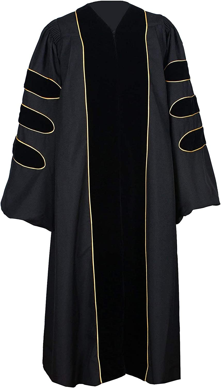GraduationForYou Deluxe Doctoral Graduation Very popular Gown with Velvet discount