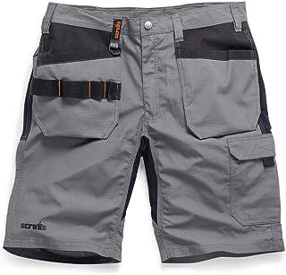 Scruffs T54650 Trade Flex Holster Shorts Graphite 32W