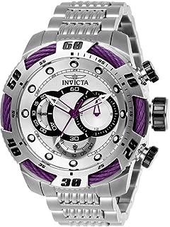 Men's Speedway Quartz Chronograph Silver Dial Watch
