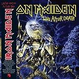 LIVE AFTER DEATH LP (VINYL ALBUM) EUROPEAN EMI 2013