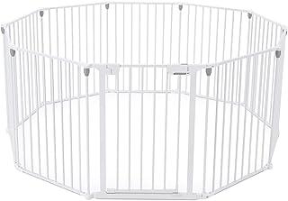 3 in 1 Baby Playpen 10 Panel Toddler Kids Safety Gates Interactive Child Barrier