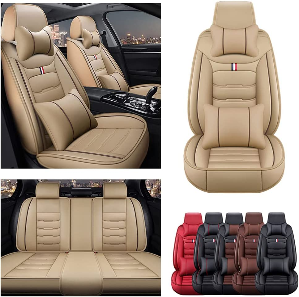 Front Rear Seat Covers with Charlotte Mall Headrest Backrest Toy Cushions for Our shop OFFers the best service