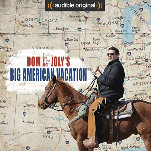Dom Joly's Big American Vacation audiobook cover art